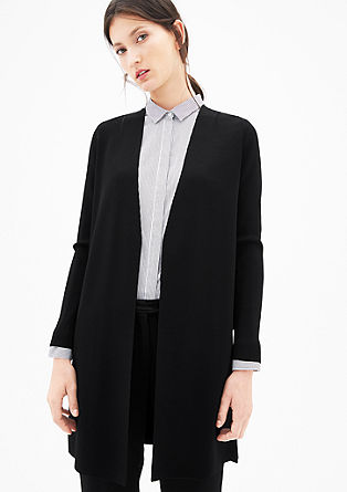 Long cardigan in a clean design from s.Oliver