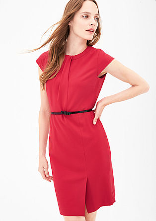 Sheath dress with a back neckline from s.Oliver