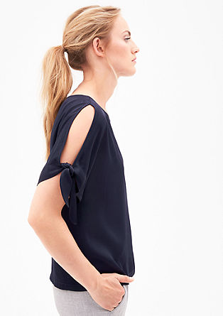 Blouse with cut-outs from s.Oliver