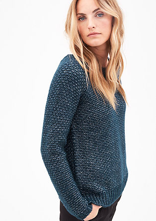 Chunky knit jumper with alpaca from s.Oliver