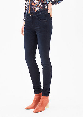 Sienna Slim: jeans with a dye effect from s.Oliver