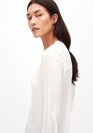 Elegant satin blouse from s.Oliver