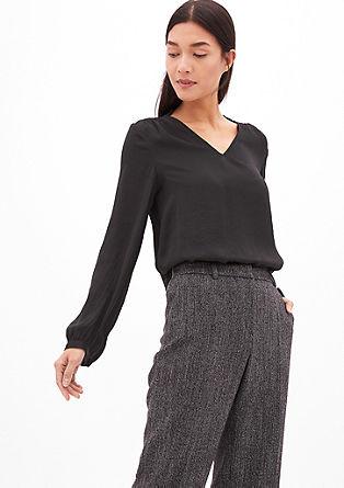 Elegante Bluse aus Satin