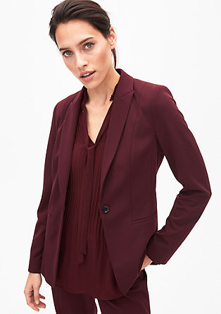 Fashionable business blazer from s.Oliver