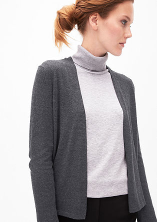 Sleek fine knit cardigan from s.Oliver