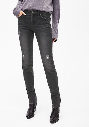 Sienna Slim: Jeans mit Artwork