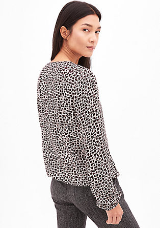 Tunic with an all-over pattern from s.Oliver