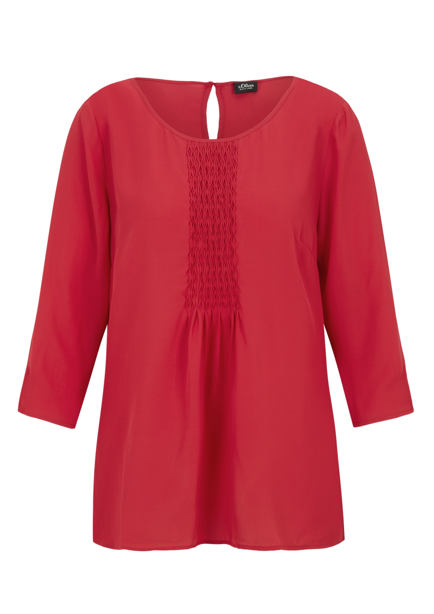 Chiffonbluse | Bekleidung > Blusen > Chiffonblusen | Rot | 100% polyester | s.Oliver BLACK LABEL