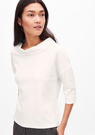 Jacquard-Shirt mit Kragen