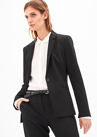 Taillierter Businessblazer