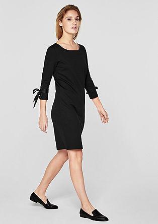 Kleid mit Satinschleifen-Details