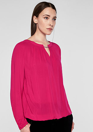 Blouse top with embellishment from s.Oliver
