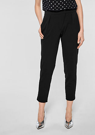 Eve Easy Chino: Crêpe trousers from s.Oliver