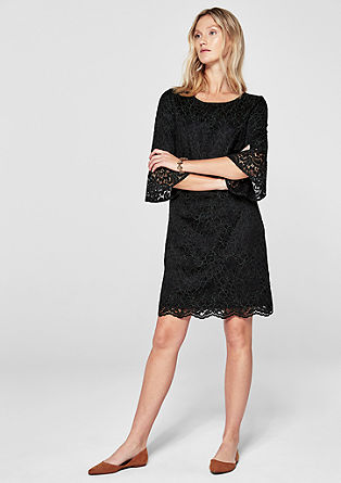 Elegant dress with floral lace from s.Oliver