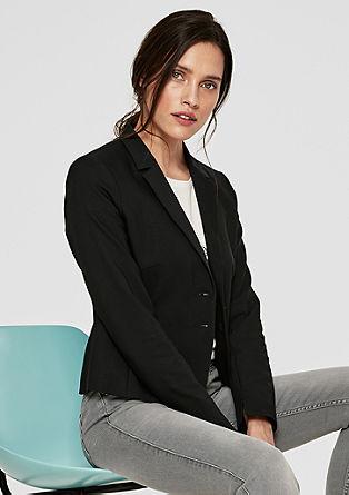 Korte blazer met een elegante look