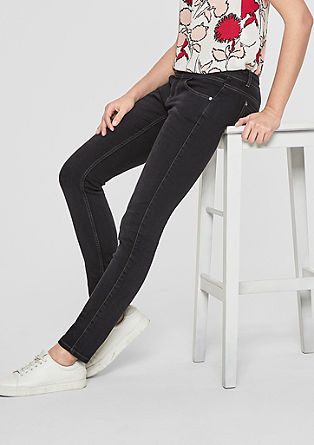 Sienna Superslim: Dunkle Stretchjeans