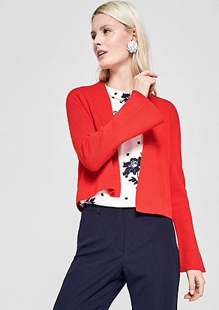Bolero with flared sleeves from s.Oliver