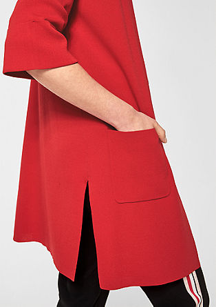 Long cardigan with trumpet sleeves from s.Oliver