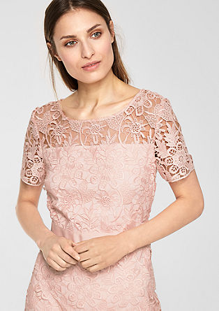 Fitted lace dress from s.Oliver