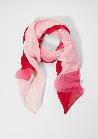 Lightweight pleated scarf from s.Oliver