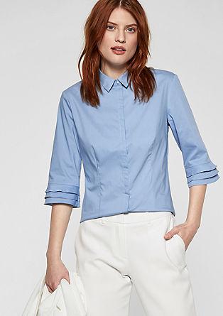 Košilová halenka svolánovými rukávy