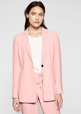Lange blazer met business look