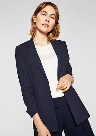 Longblazer im Business-Look