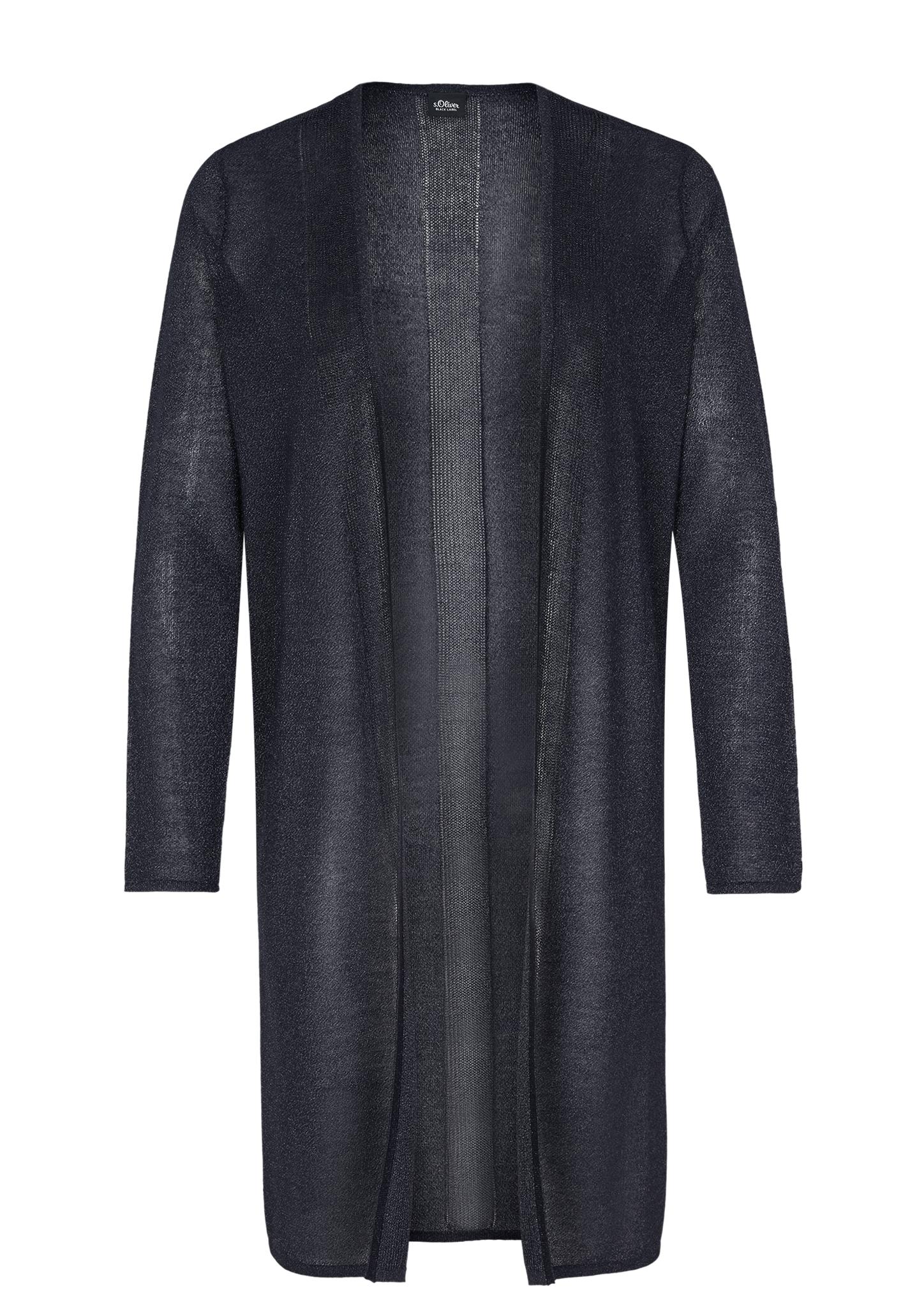 Strickmantel | Bekleidung > Strickjacken & -mäntel > Strickmäntel | Blau | 84% viskose -  16% polyester | s.Oliver BLACK LABEL