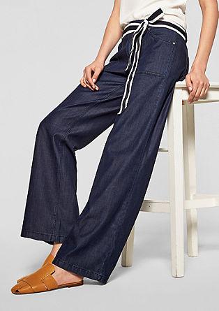 Milli bootcut: broek met wijde, uitlopende pijpen