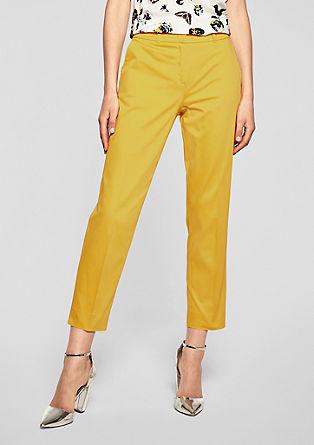 Rita Comfort: pantalon en satin de longueur chevilles de s.Oliver
