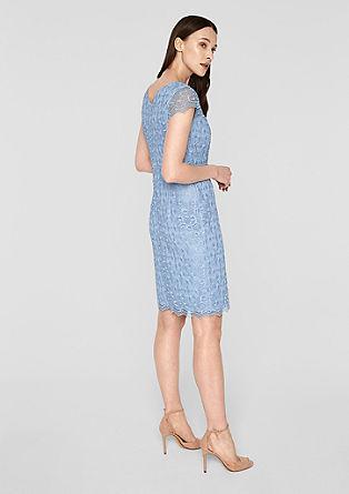 Dubbellaagse jurk met kant
