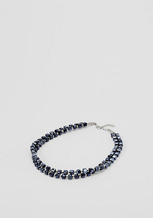 Choker with facet-cut gemstones from s.Oliver
