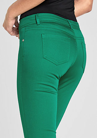 Sienna Slim Low: Satinhose