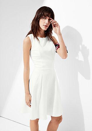 Leinen-Kleid mit Taillengürtel