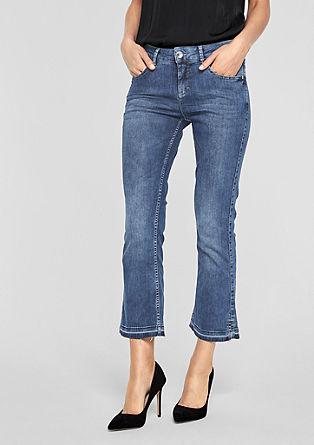 Sienna Slim: Kick Flared-Jeans