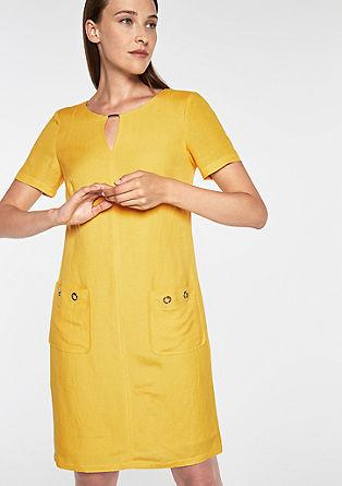 Legeres Kleid aus Leinen