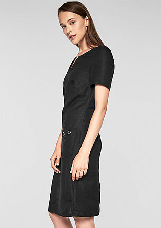 Casual linen dress from s.Oliver