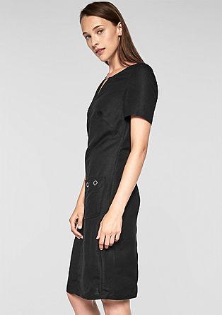Ležérní lněné šaty