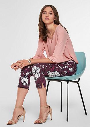 Sienna Slim: vzorované 7/8 kalhoty