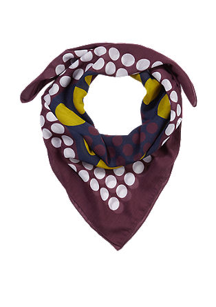 Šátek vretro stylu