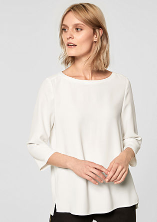 Crêpe blouse top from s.Oliver
