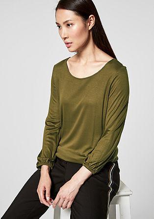Shirt mit Schleifendetail