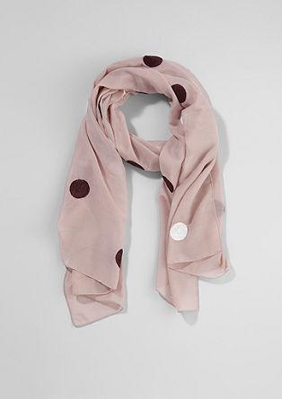 Sjaal met polkadots