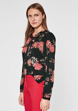 Bluza prevelikega kroja s trakom