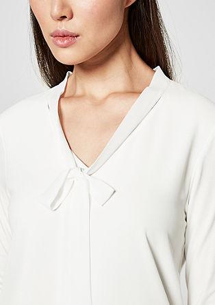 Longsleeve met blouseachtige details