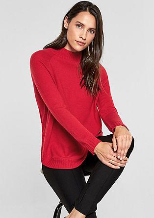 Oversized-Pullover mit Kaschmir