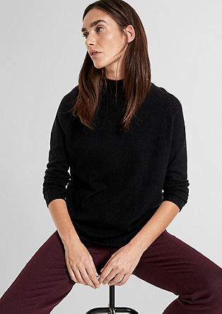 Oversized jumper with cashmere from s.Oliver