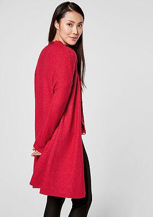 Manteau ouvert en maille de laine mélangée de s.Oliver