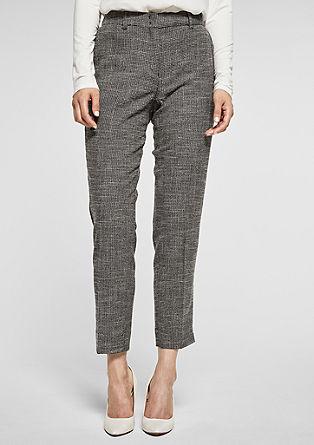 Rita Comfort: pantalon élégant en toile de s.Oliver