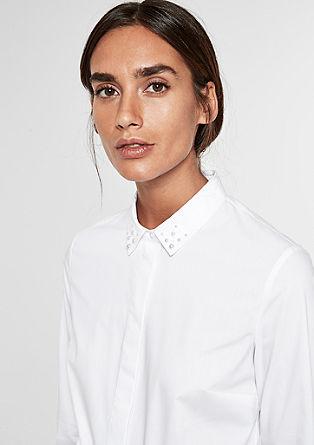 Raztegljiva bluza z okrasnimi biseri